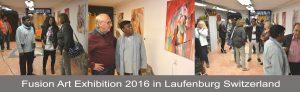 Fusion Art Exhibition 2016 Laufenburg Switzerland
